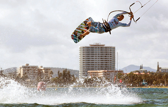 Kitesurfing: learn to ride safely
