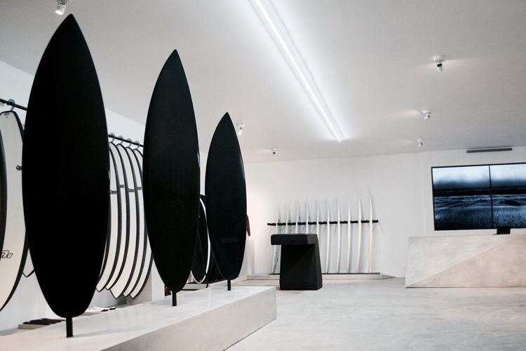 Haydenshapes Flagship Store: surf shops are changing | Photo: HS