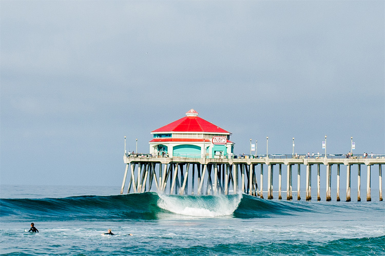Why is Huntington Beach called Surf City USA?