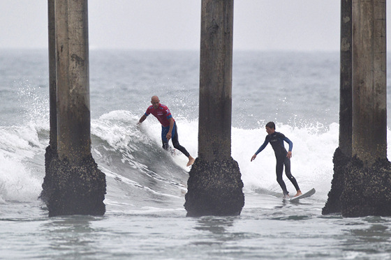 US Open of Surfing: brands come and go from the pier