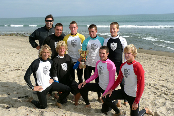 Huntington Beach High: proud surfers