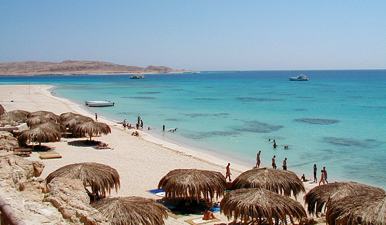 Hurghada: popular kiteboarding spot in Egypt