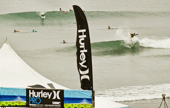 2011 Hurley Pro: small is beautiful