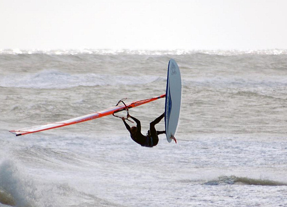 Hvide Sande: cold, but simply great | Photo: windsurfers-blog.de
