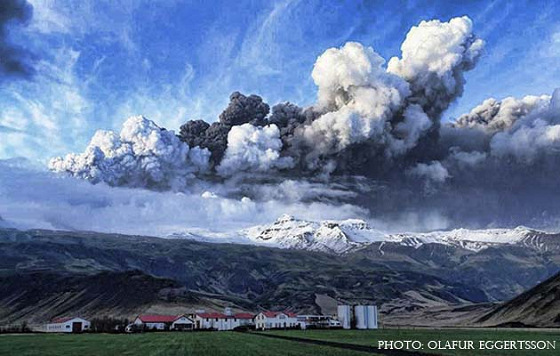 Iceland's volcano: when Nature commands Man