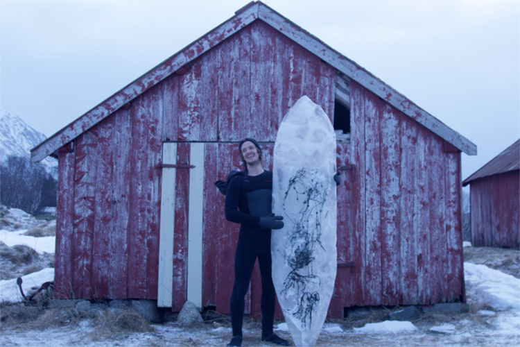 Ice surfboards: made in the Arctic region