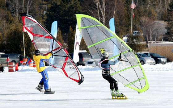 2012 World Ice and Snow Sailing Championships: truly radical