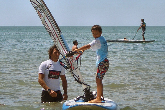 iDO in Italy: anyone can windsurf