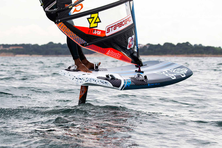 Starboard iQFoil: ready for course racing, marathon, point-to-point, sprint slalom, and GPS Speed | Photo: Carter/PWA