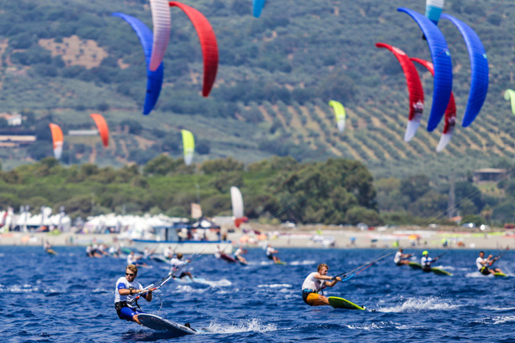 Kiteboarding: the expression 'world champions' has owners | Photo: IKA
