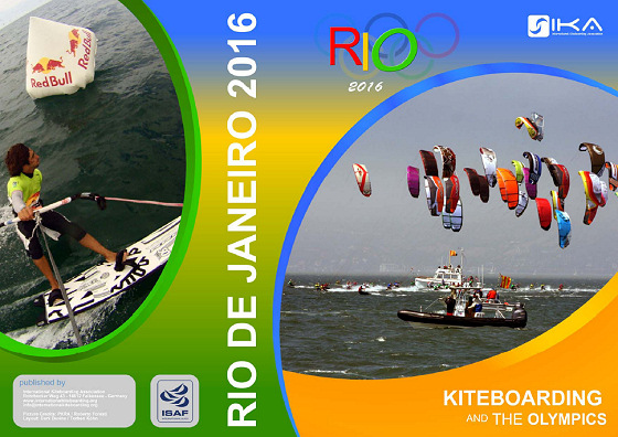Kiteboarding will try to enter the 2016 Olympic Games in Rio de Janeiro