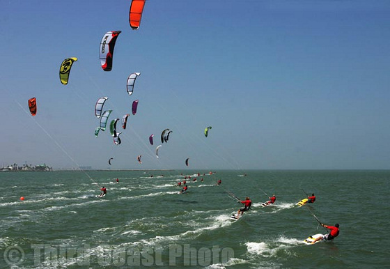 2010 IKA World Kite Racing Championship: running for the podium