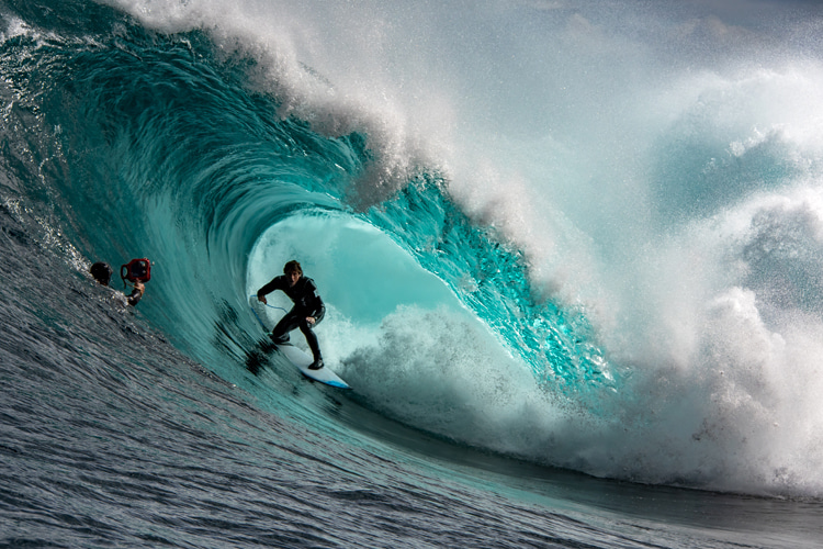 In-water surf photography: adjust your shutter speed to your needs   Photo: Shutterstock
