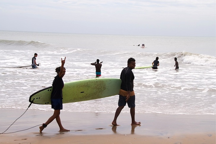 India: surfing is growing here