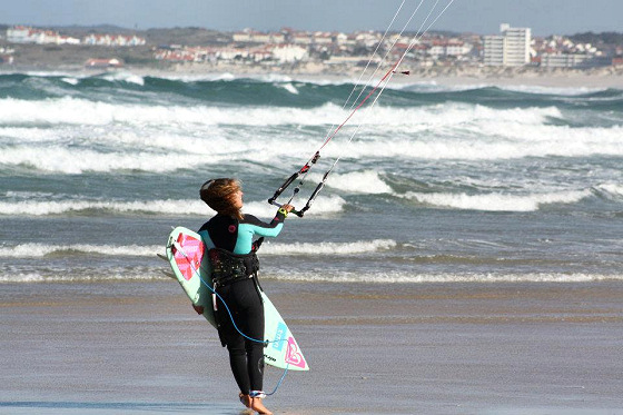 Inês Correia: Portuguese kitesurfer chasing winds of glory