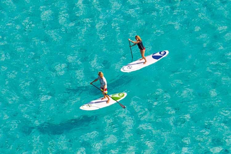 Inflatable SUP: portable, light and great for waves and cruising