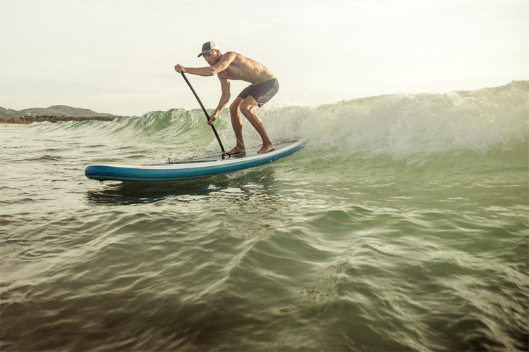 Inflatable SUP boards: portable, light and great for waves and cruising