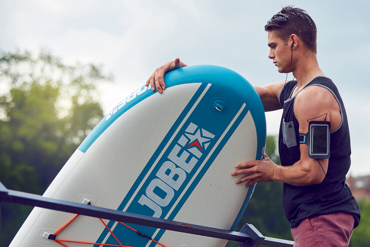 Inflatable SUP: learn how to repair holes and tears | Photo: Jobe