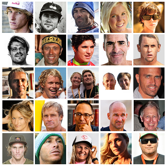 The 25 most influential people in surfing, kiteboarding, windsurfing, bodyboarding, skimboarding and wakeboarding