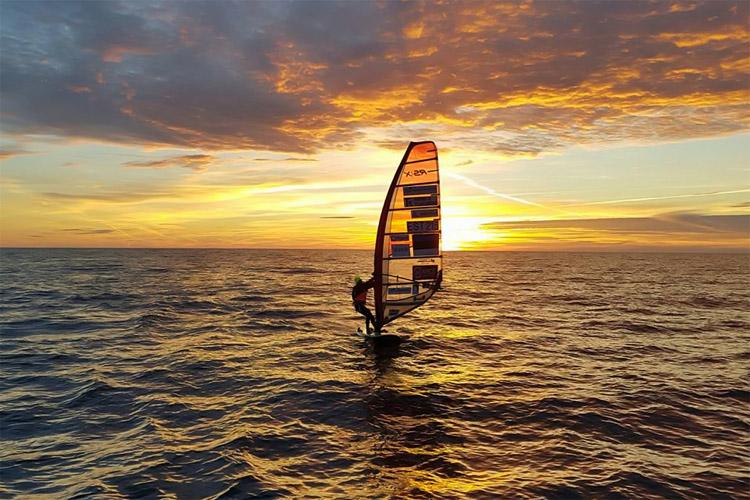 Ingrid Puusta: she sailed 100 nautical miles between Sweden and Estonia   Photo: Ingrid Puusta