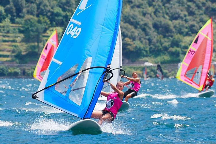 Marta Tanas: the winner of the 2018 Windsurfer World Trophy | Photo: Windsurfer