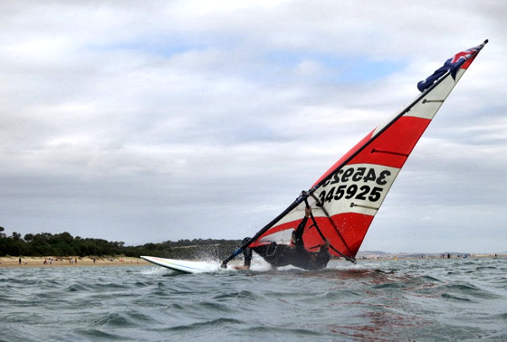 Inverloch Windsurfing Club: open to retro styles
