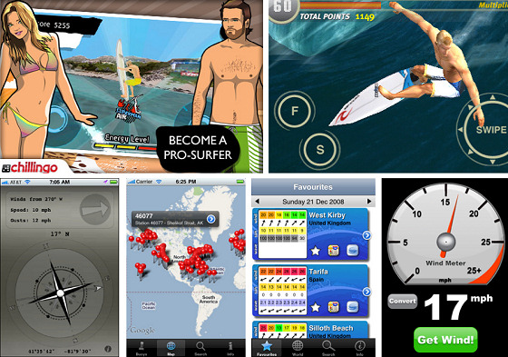 Iphone surf apps: invading the iTunes store