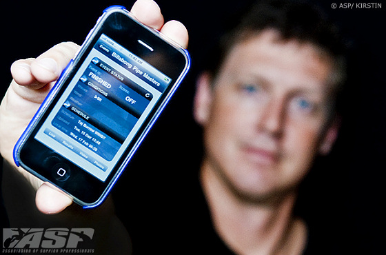 ASP iPhone application: you still need to go surfing in real life