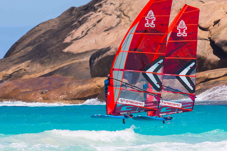 iQFoil: the Olympic windsurfing class will be managed by the IWA | Photo: Starboard