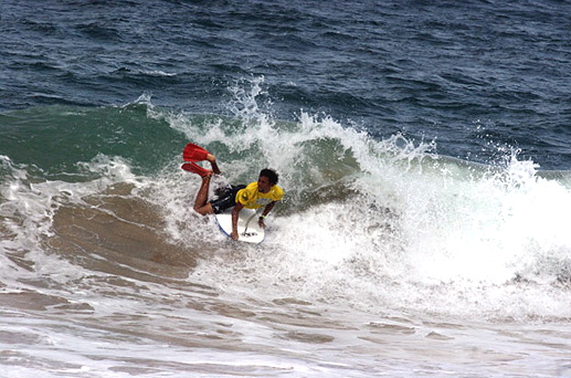 Ira Rodrigues in the 2009 Cobra D'Água Bodyboarding Show
