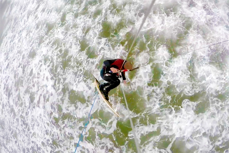 Irish Kitesurfing Project: going big in Ireland