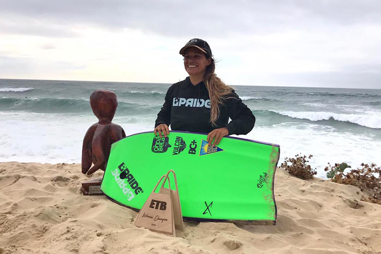 Isabela Sousa: the queen of European bodyboarding | Photo: ETB