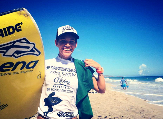 Isabela Sousa: third world bodyboarding title
