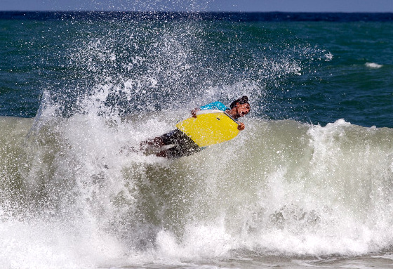 Playa Parguito: capital of international bodyboarding contests