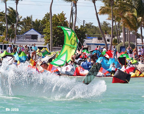 Islamorada Invitational: there are plenty of kiteboarders in Florida