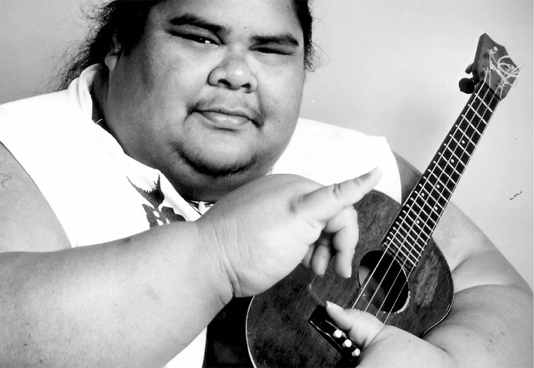 Israel Kamakawiwo'ole: one of the most famous ukulele players of all time