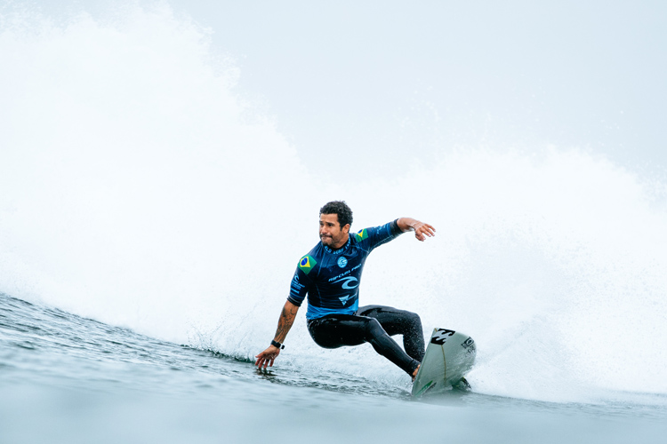 Italo Ferreira: he beat Mick Fanning in the final | Photo: Sloane/WSL