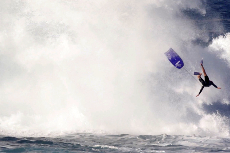 Jack Baker: the bodyboarding cannon who flew 20 feet above Cape Solander