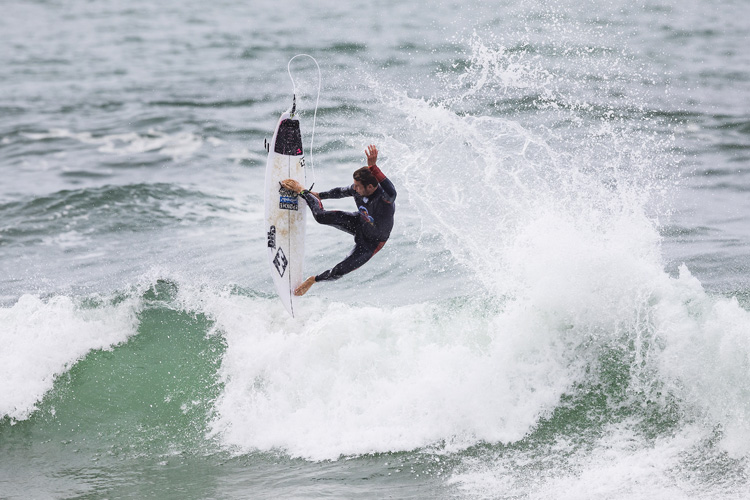 Jack Freestone: the Australian aerialist finished third in the Red Bull Airborne | Photo: Poullenot/WSL