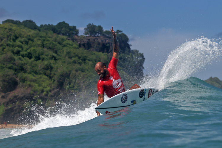 Jadson Andre: he beat Medina en route to winning the 2019 Oi Hang Loose Pro Contest | Photo: Smorigo/WSL