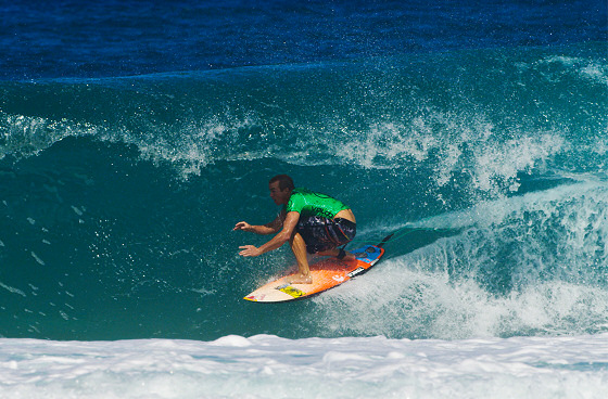 Jamie O'Brien: playing in home barrels