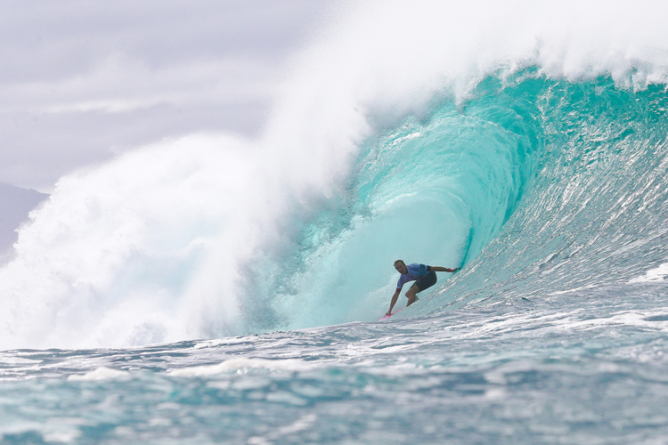 Jamie O'Brien: just another day at the office | Photo: Masurel/WSL