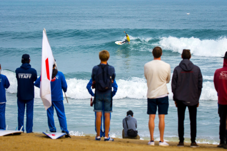 Surfing: the sport will make its Olympic debut in Tokyo 2020 | Photo: Evans/ISA