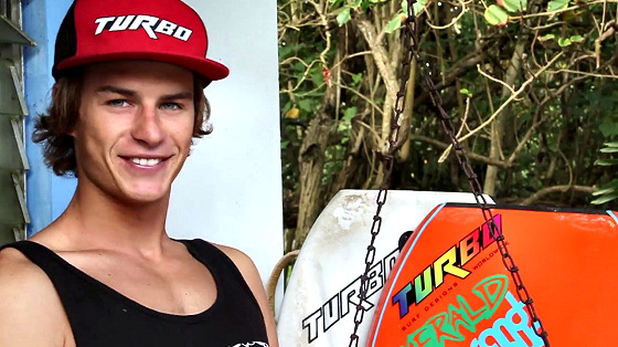 Jared Houston: he will have a signature board