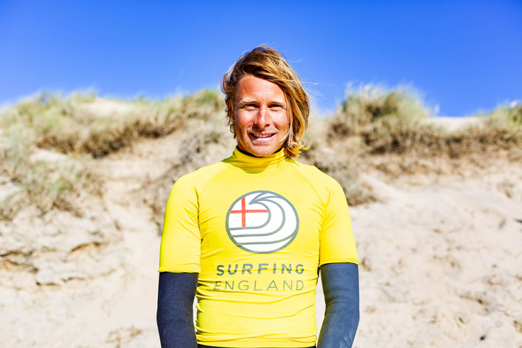 Jayce Robinson: your 2019 English surfing champion | Photo: Surfing England
