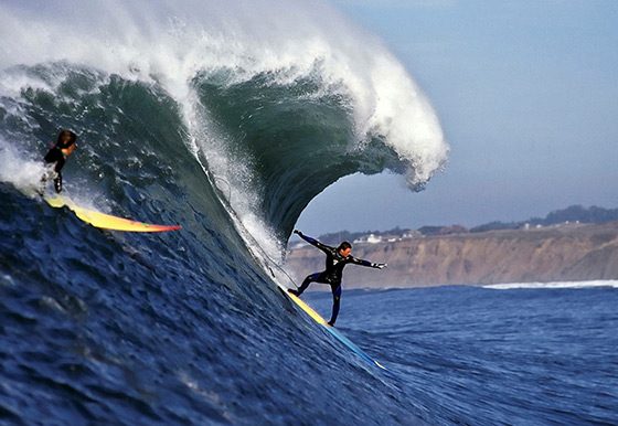 Jay Moriarity: time to fly | Photo by Vern Fisher