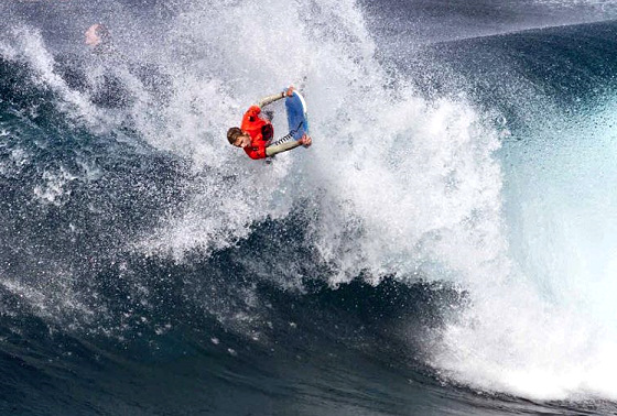 Jeff Hubbard: lucky at the Fronton Pro, this time