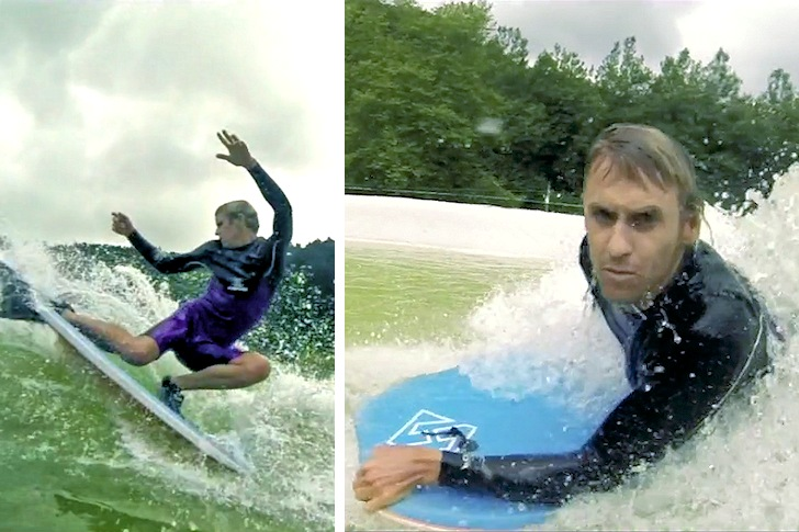 Jeff Hubbard: making a statement for bodyboarding at Wavegarden