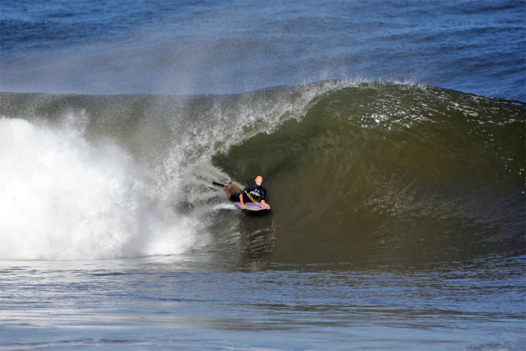 Jeff Hubbard: enjoying the Pipe pit | Photo: APB