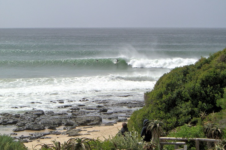 Jeffreys Bay: the ultimate 1200-yard surfing experience